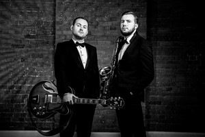 The Jazz Essentials - instrumental jazz duo for hire for corporate events and wedding receptions