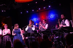 Down for the Count Swing Orchestra LIVE at Ronnie Scott's Jazz Club, London