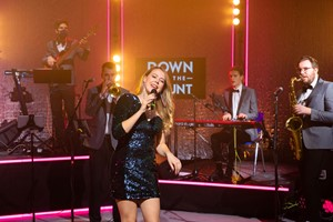 Capital Showband - premium pop and soul band to hire for corporate events and wedding receptions throughout the UK and internationally