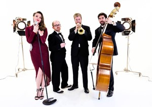Hollywood Jazz Band - stylish jazz quartet to hire for events in London