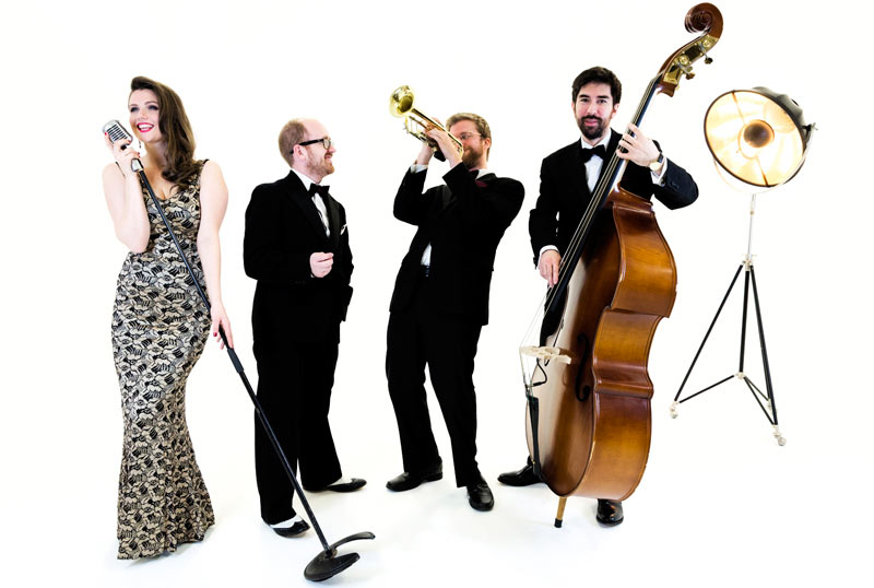 Hollywood Jazz Band - glamorous jazz band performing live music at UK events