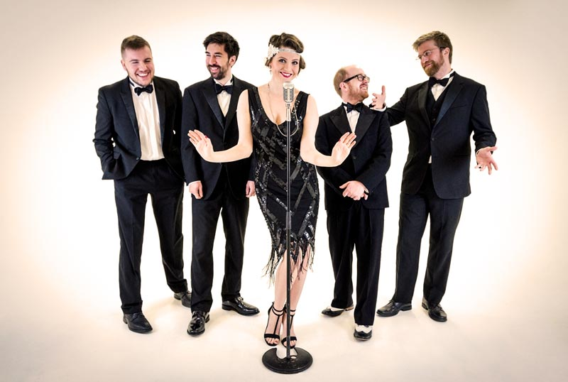 Lady Gatsby Jazz Band - stylish jazz band for hire