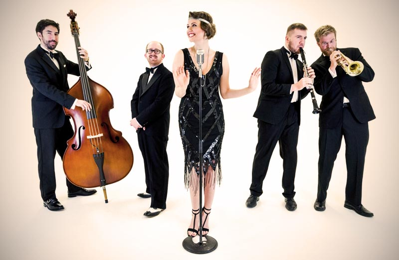 Lady Gatsby Jazz band - 1920s band hire