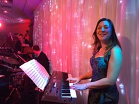 live wedding band at Buckinghamshire wedding