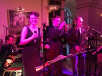 Live party band performing at the Lansdowne Club, London
