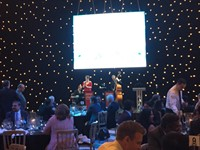 Live jazz band performing for London corporate event