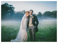 Bride and groom in Lincolnshire