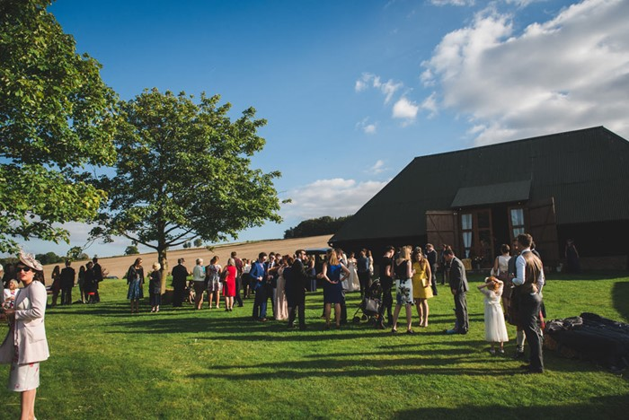 Cold Harbour Barn, Oxfordshire wedding venue