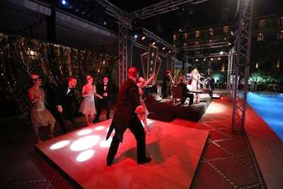 Vintage swing dancers to hire for your wedding reception