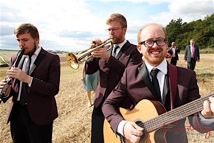 Wedding drinks reception live background music ideas