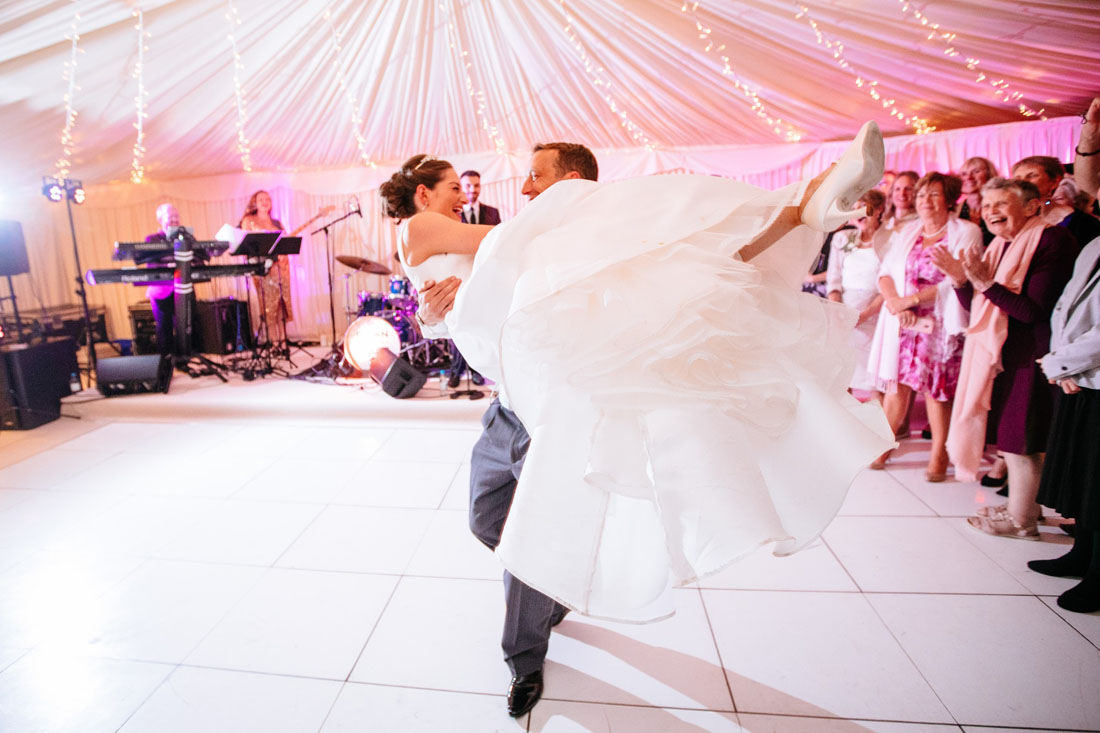 Wedding band first dance to live music bride and groom live swing soul band