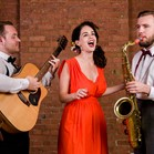 The Vintage Strollers - vocal-led acoustic roaming band performing swing, soul and pop music