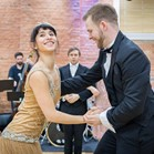 The Vintage Swing Collective - our collaboration with fantastic Lindy hop and Charleston dancers, great at getting your guests on the dancefloor