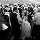 Down for the Count's swing, soul and pop function band performing at a wedding reception in Worcestershire