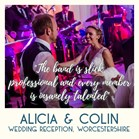 Wedding band reviews for Down for the Count - the UK's top swing, soul and pop band for hire for wedding receptions