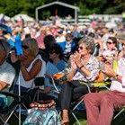 Down for the Count swing and soul band support The City of Birmingham Symphony Orchestra feat. Strictly Come Dancing's Lance Ellington at Concerts in the Park, 2018