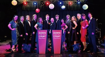 Down for the Count live swing band in London. Book with confidence for your wedding reception or corporate event.