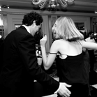 Claridges London wedding reception swing soul band live music