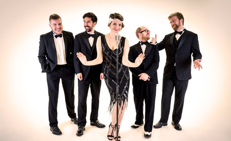 Lady Gatsby Jazz Band - 1920s Prohibition band for hire
