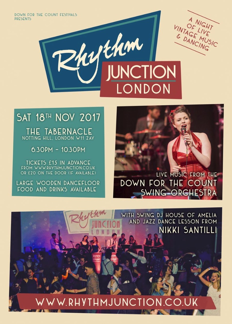 Rhythm Junction London live music and swing dance event