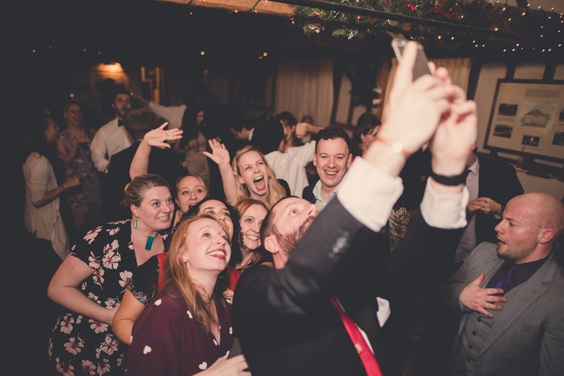 Wedding planning tips and advice - selfie at a party