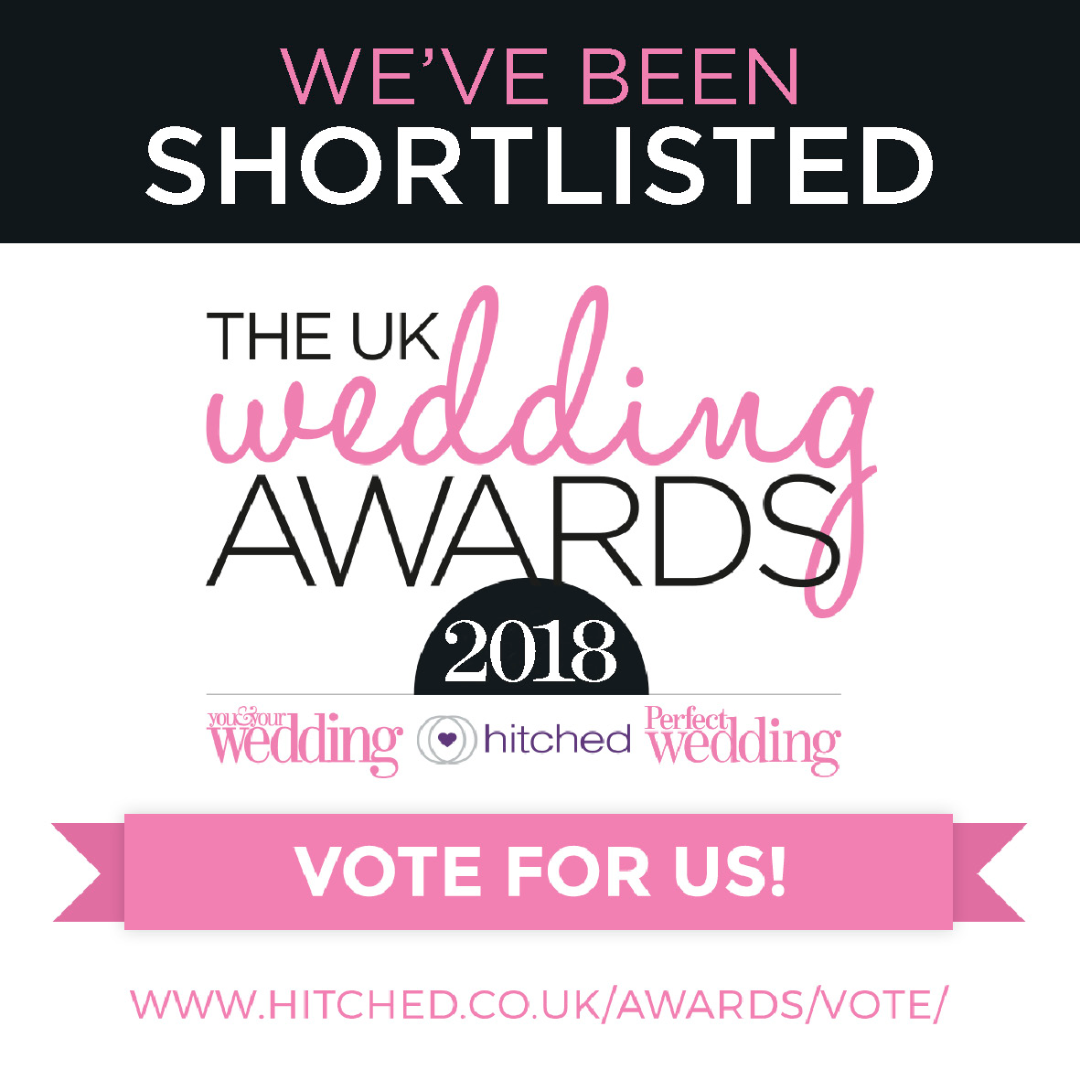 Vote for Down for the COunt in the UK Wedding Awards from Hitched